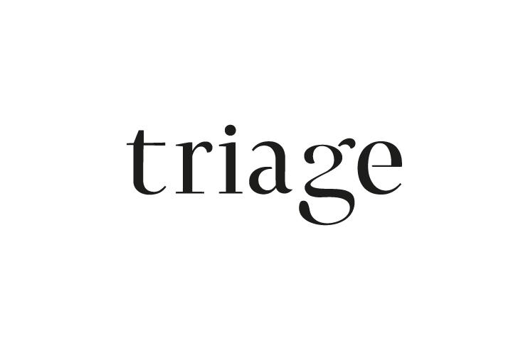 Triage, typography, curves, logo, letter g, G, tri,